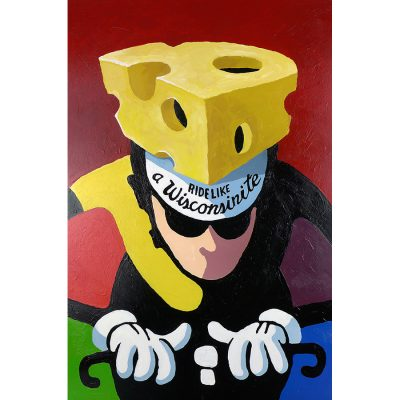 Ride Like a Wisconsinite | Original Cycling Art
