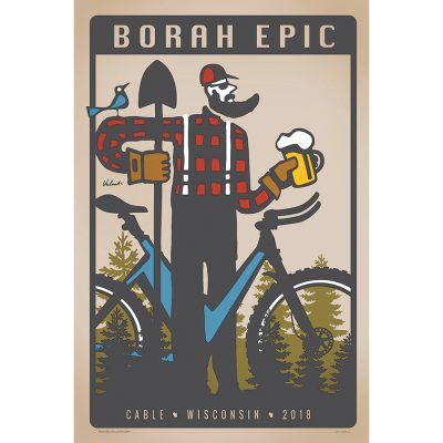 Borah Epic | Cycling Art Print