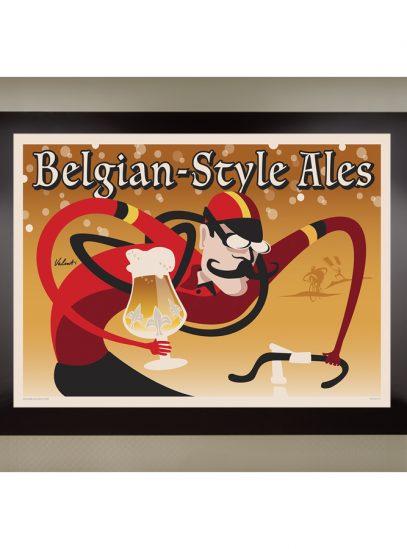 Belgian Style Ales_framed
