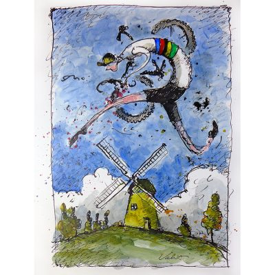 Valkenburg Cyclocross | Original Cycling Art