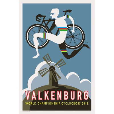 Valkenburg CX | Cycling Art Print