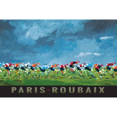 Paris-Roubaix 2018 | Cycling Art Print