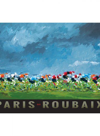 Paris-Roubaix 2018 | Cycling Art Print