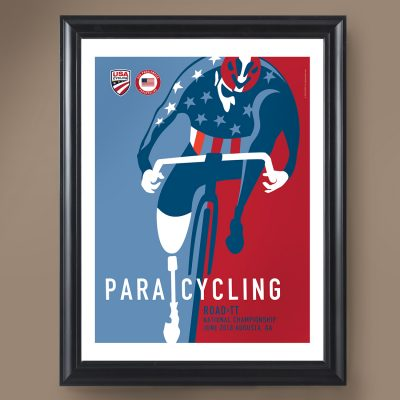 USAC Para-Cycling | Signed Edition Cycling Print