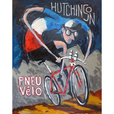 Hutchison Pneu Vélo | Original Cycling Art