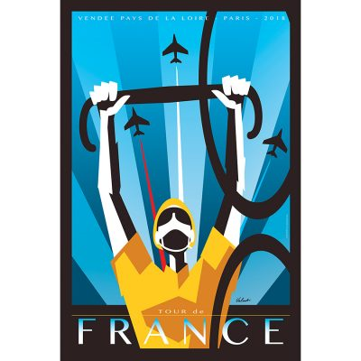 Tour de France 2018 | Cycling Art Print