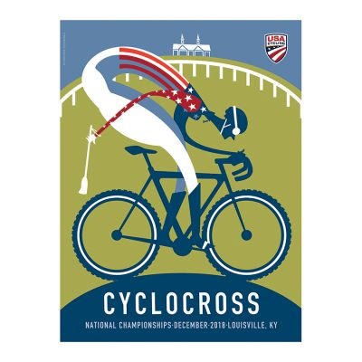USAC Cyclocross Nationals | Official Edition Cycling Print