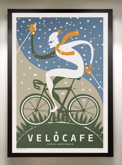 Velo Cafe_framed