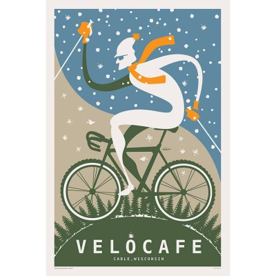 Velo Cafe | Cycling Art Print