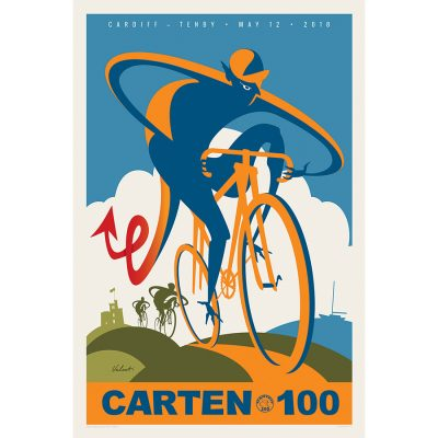 Carten 100 | Dragon | Cycling Art Print
