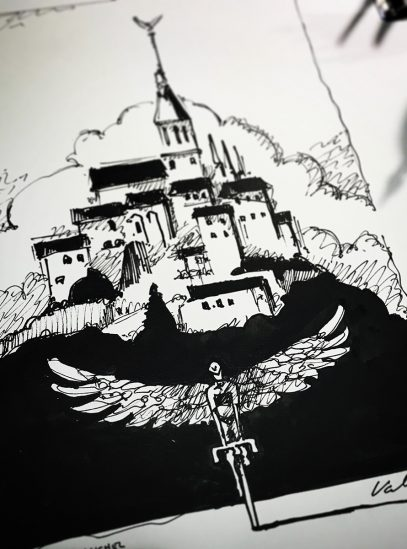 Mont Saint Michel_concept art