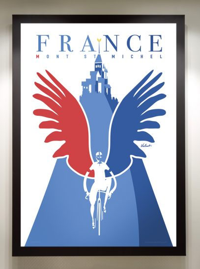 Mont Saint Michel_framed