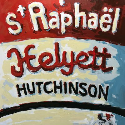 St Raphael | Original Cycling Art