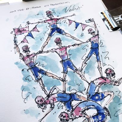 TDU | Original Cycling Art |  EF New Kit