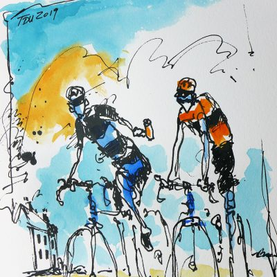 TDU | Original Cycling Art | Heat Wave