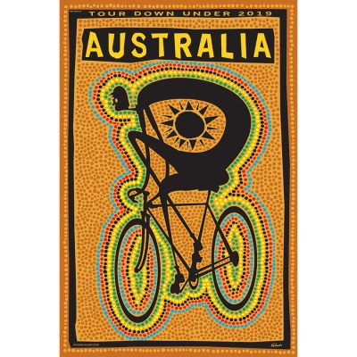 Tour Down Under 2019 | Cycling Art Print