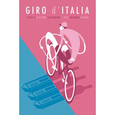 Giro d'Italia 2019 | Stage 9 | Cycling Art Print