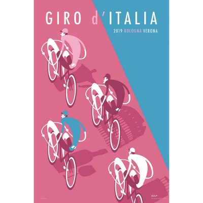 Giro d'Italia 2019 | Cycling Art Print