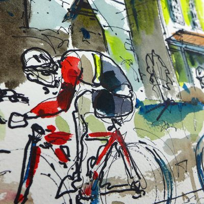 Morris IL | Original Cycling Art