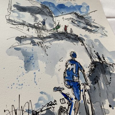 Giro Stage 13 | Landa | Original Cycling Art