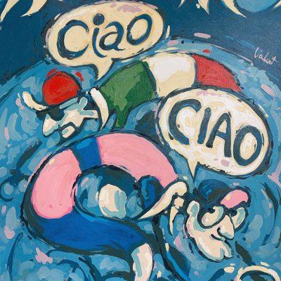 Ciao! Ciao! | Original Cycling Art