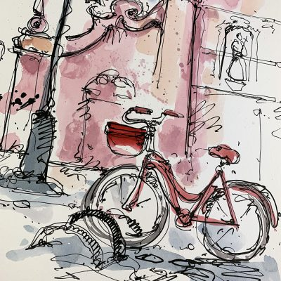 Giro | Sarrono | Original Cycling Art
