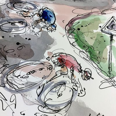 Sella Ronda Loop | Dolomites | Original Cycling Art