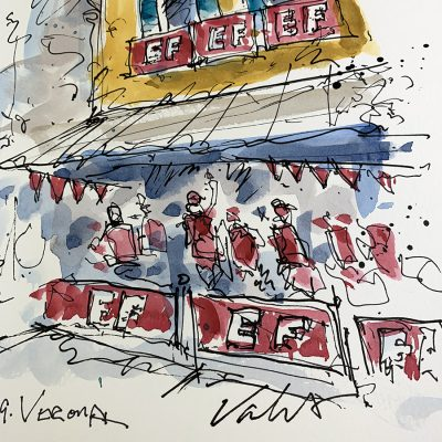 Giro Stage 21 | EF Party | Original Cycling Art