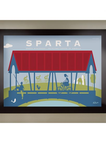Sparta Bridge Framed