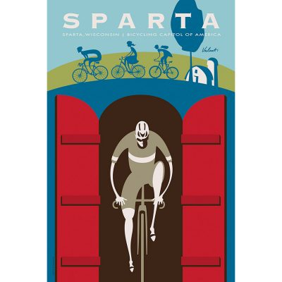 Sparta Tunnels | Cycling Art Print
