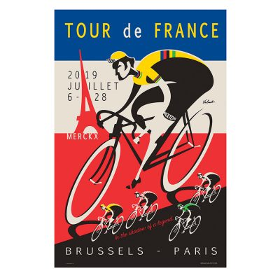TDF 2019 | Legend | Cycling Art Print