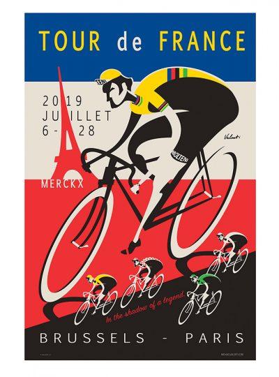 TDF 2019 | Legend | Cycling Art Print