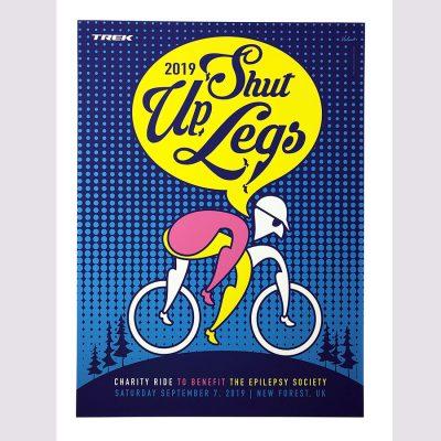 Shut Up Legs | Cycling Art Print