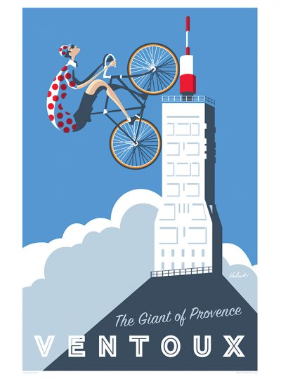 Ventoux | Giant of Provence | Cycling Art Print