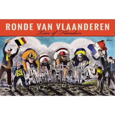 RVV Tour of Flanders | Cycling Art Print