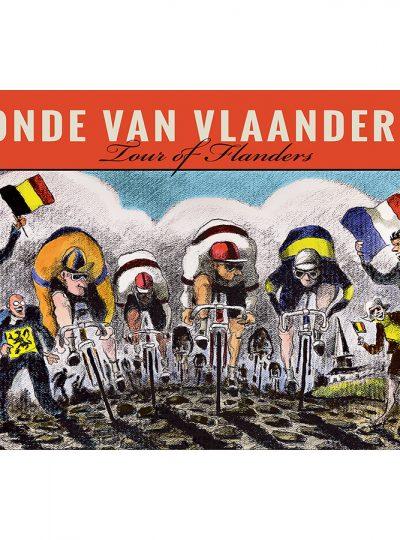 Ronde Van Vlaanderen Cycling Art Print | Valenti