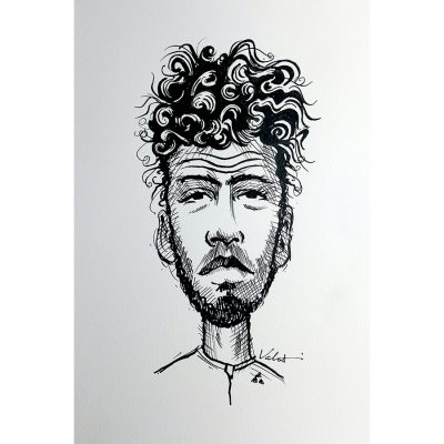 Cav Curls | Original Cycling Art
