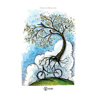 Spring Ride | Cycling Art Print