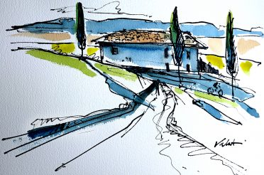 Join me for a Cycling Artist Retreat