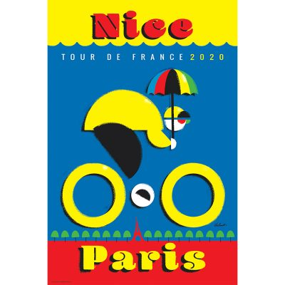 TDF 2020 Nice | Cycling Art Print