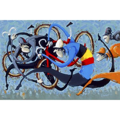 Belgian Tango | Original Cycling Art