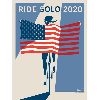 Ride Solo 2020 | Cycling Art Print