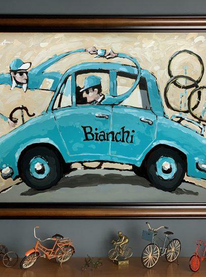 Cafe Bianchi_framed