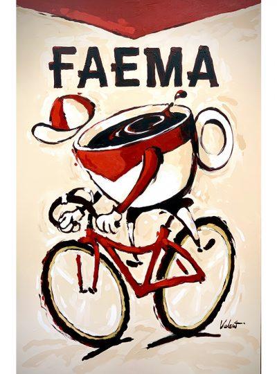 Faema Cup | Cycling Art Print