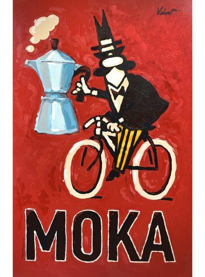 Moka Cycling Art Print_Valenti Cycling Art