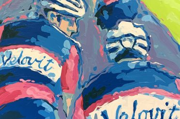 Leap of Faith | Buying my Cycling Art