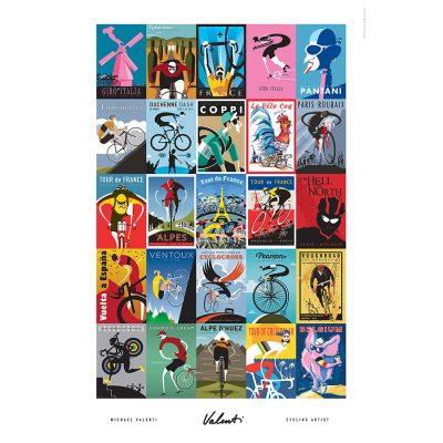 Valenti Classics | Cycling Art Print