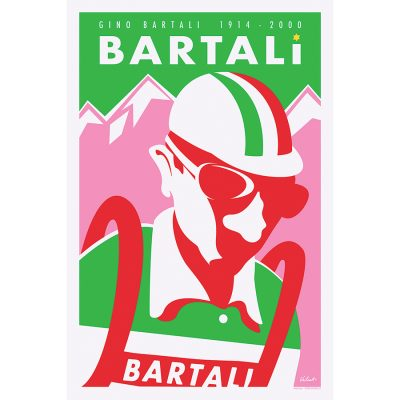 Gino Bartali | Legend | Cycling Art Print