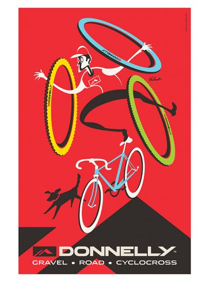 Donnelly Cycling Brand Print | Michael Valenti