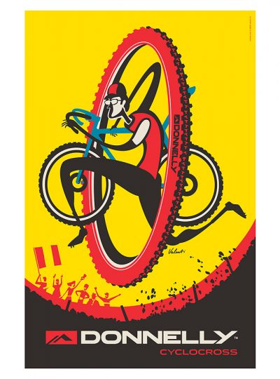 Donnelly CX Cycling Art Print | Valenti